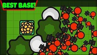 ZOMBS IO NO UPGRADE CHALLENGE #2 | BEST BASE EVER! | ZOMBS