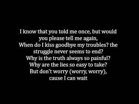 Don't Worry - Soja (lyrics)