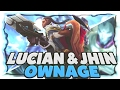 C9 Sneaky | LUCIAN AND JHIN OWNAGE