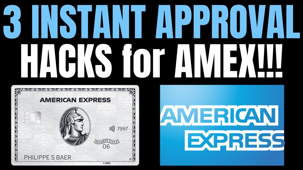 Download 🔥 HOW TO GET AUTOMATIC APPROVALS WITH AMERICAN EXPRESS (AMEX) | INSTANT APPROVALS!! (MUST WATCH)