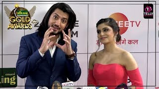 Kunal Jaisingh With Fiance Bharti Singh At Zee Gold Awards 2018 | Red Carpet