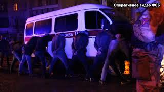 Задержание похитителей предпринимателей в Симферополе  7 декабря 2017 года