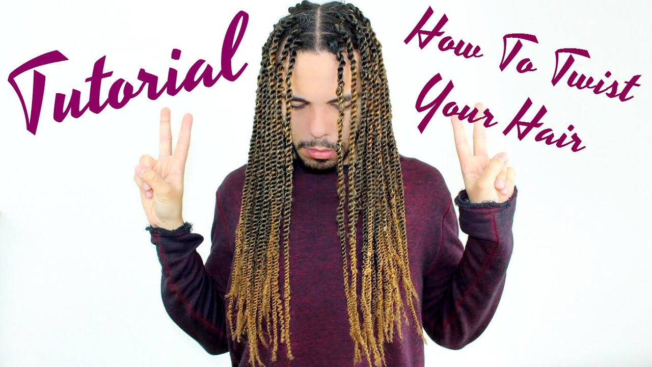 Tutorial How To Twist Hair With Extensions No Knots