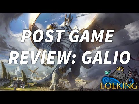 Lpl Post Game Review The New Galio And How To Use Him