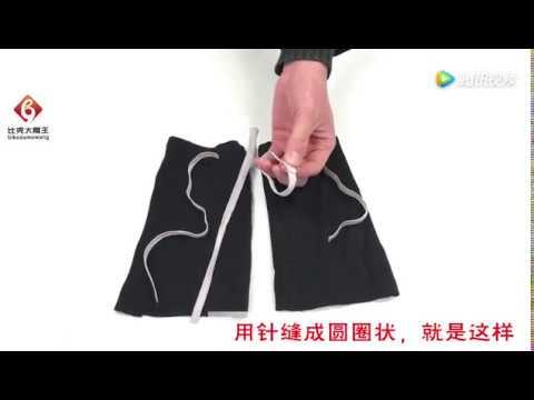 没用的旧衣服把袖子剪下来,缝一缝套在衣服上超实用,赶紧试一试