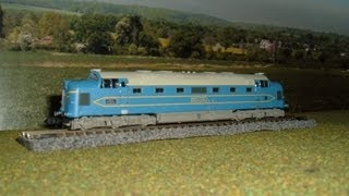 Making tiny model train layout in 3 days (N Gauge)