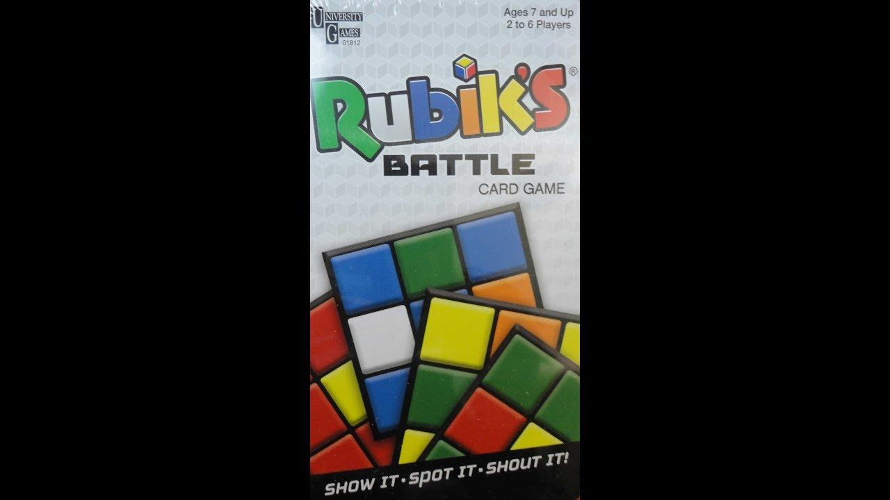 Rubik/'s Battle Card Game