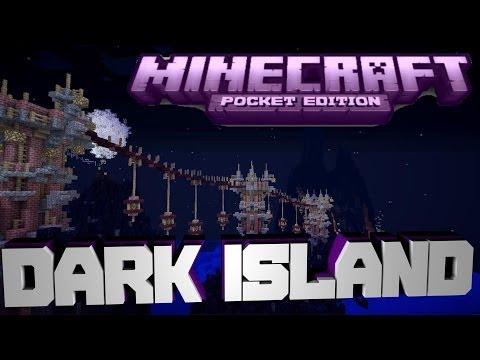 minecraft-pe-custom-map-dark-island-[download]