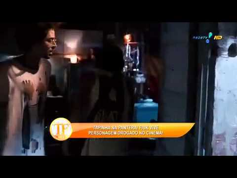 Fiuk Fala Sobre Dar 'tapinha Na Pantera' Em Filme - TV Fama 01/04/2014
