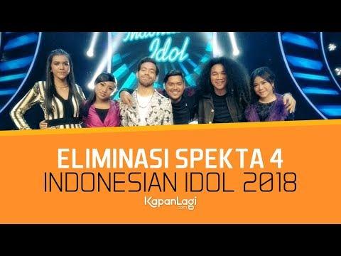 Siapa Finalis Indonesian Idol yang Tereliminasi di SPEKTA 4?