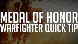 Medal of Honor: Warfighter Quick Tip: Weapon Customization