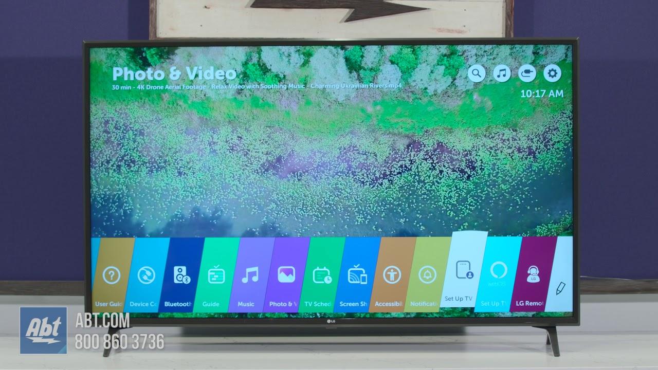 LG UK6300 Series LED TV - 55UK6300