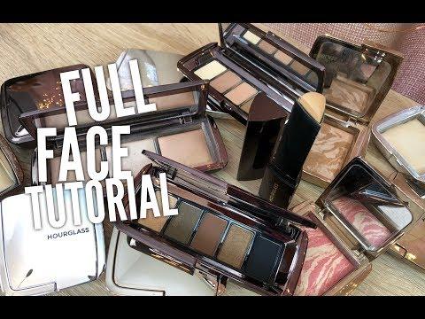 Full Face Tutorial Ft: Hourglass Graphik Eye Palette & More