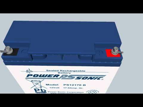 Power Sonic PS12170 (12V 17Ah SLA Battery)