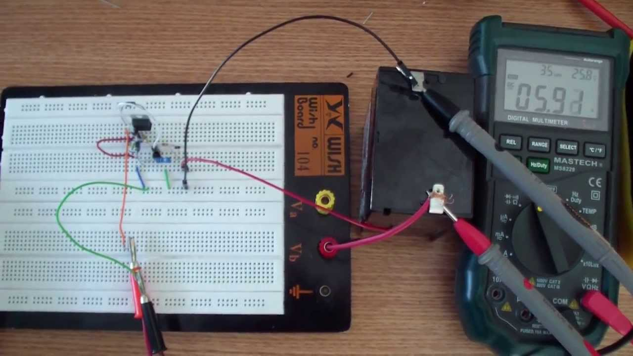 6v Solar Battery Charger Youtube Disconnect Wiring Diagram Electro Schematics
