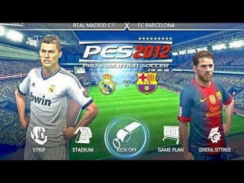 PES 2012 Game PSP bisa main di Android menggunakan ...