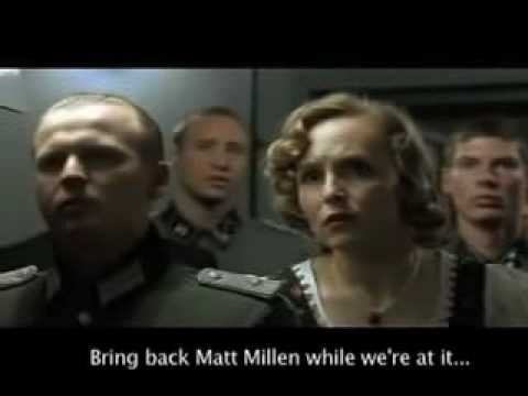 Adolf Hitler is upset after the Detroit Lions finish 0-16
