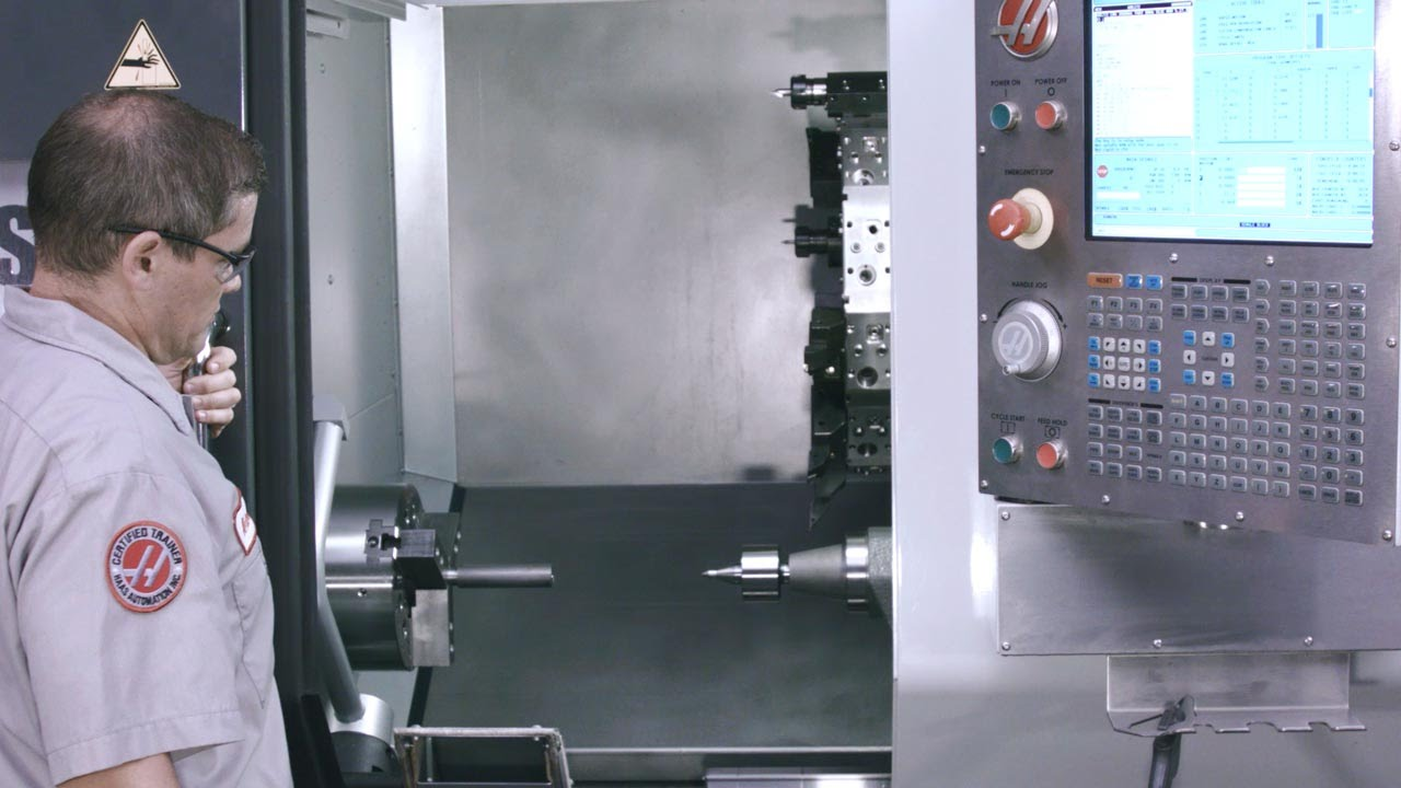 How to use the Tailstock on a Haas Lathe