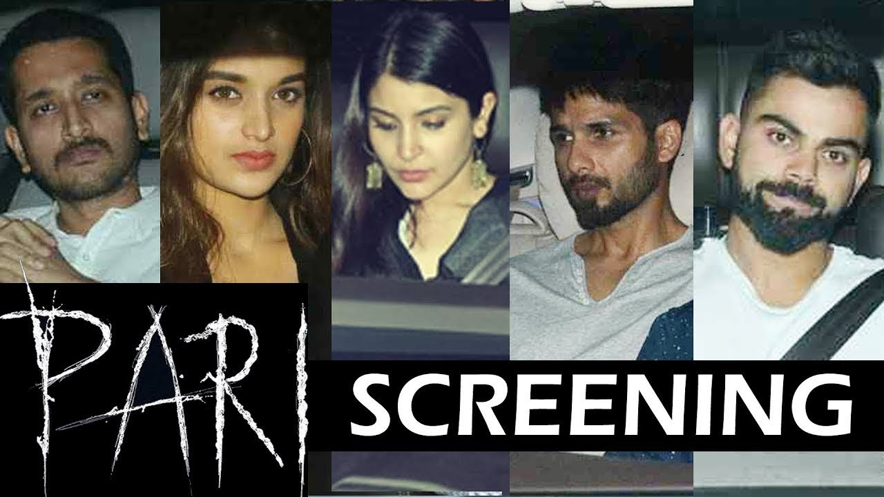 Celebs At The Special Screening Of Anushka Sharma's Pari -