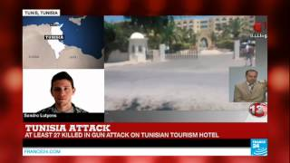 tunisia deadly gun attack on tourist hotel in sousse resort