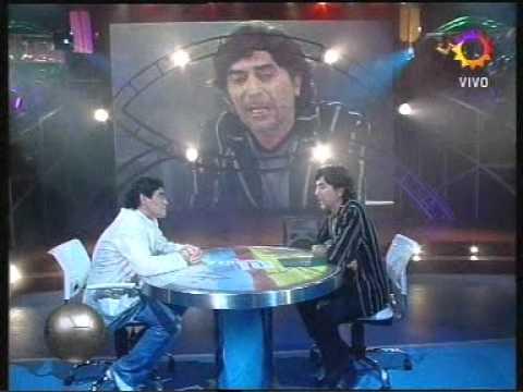 Joaquin Sabina entrevistado por Maradona  - la noche del 10