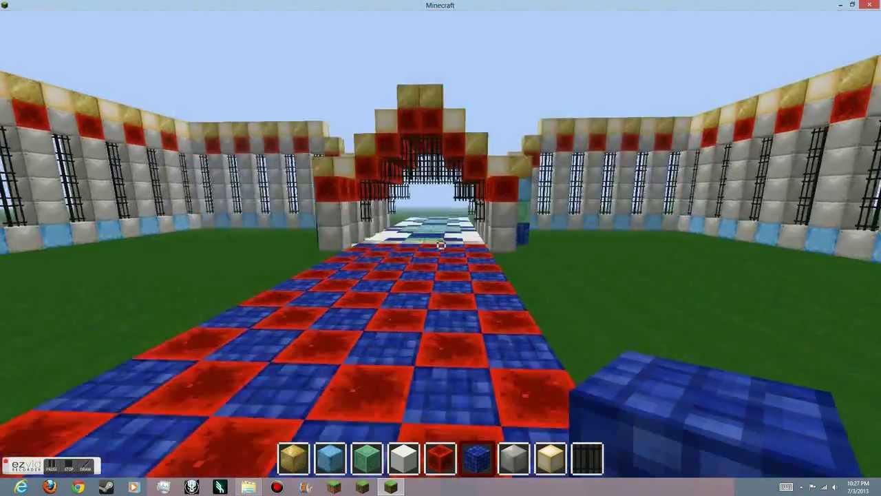 Elegant Minecraft Time Lapse: RedStone Gardens
