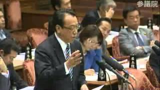 H26.03.06 参議院 予算委員会(午後) 長沢広明 検索動画 28