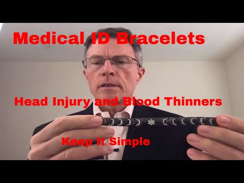 Medical ID Bracelets and Alert Systems – Should we keep it simple? Is the USB too complicated?
