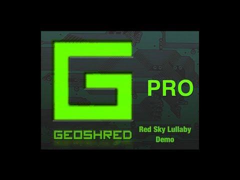 GeoShred Pro - Sound Demo