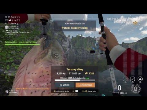 Fishing Planet #34 Tęczowy Zbieg Potwór Z Falcon