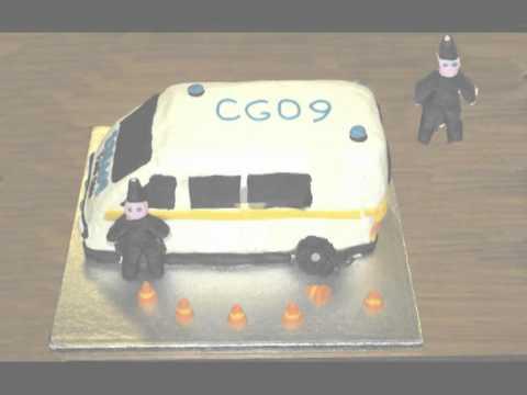how to make a van cake