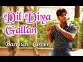 Dil Diyan Gallan | दिल दियाँ ग़ल्लां बांसुरी | Tiger Zinda Hai | Flute Instrumental | Divine Bansuri