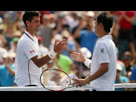 Djokovic - Nishikori: miracle (US Open semifinal) part 1