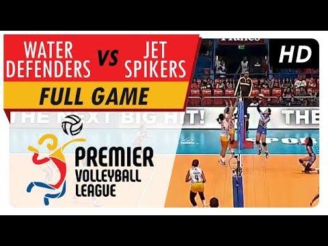 Jet Spikers vs. Water Defenders   Full Game   1st Set   PVL Reinforced Conference   April 30, 2017