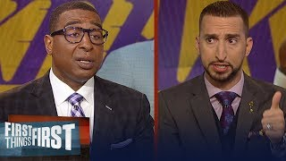 Nick Wright and Cris Carter lay out the next move for LeBron, Lakers   NBA   FIRST THINGS FIRST