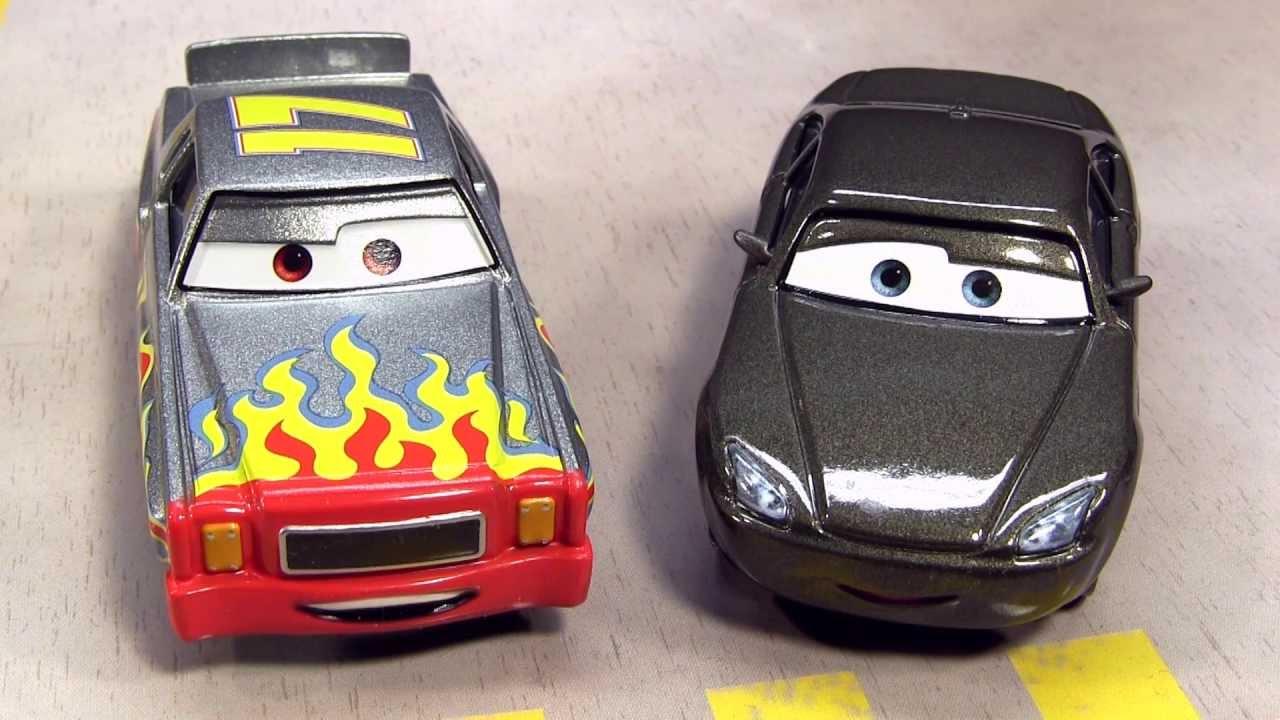 Disney//Pixar Cars Collector Die-Cast Gasprin and Sputter Stop Vehicle 2-Pack Mattel BHL51
