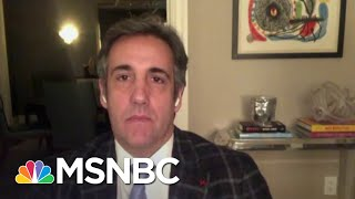 Michael Cohen Predicts An Indictment Against Trump 'Sooner Than Later' | The ReidOut | MSNBC