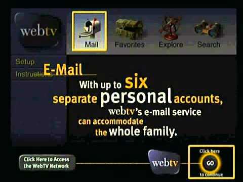 Original Webtv Demo From Philips Magnavox 1.1