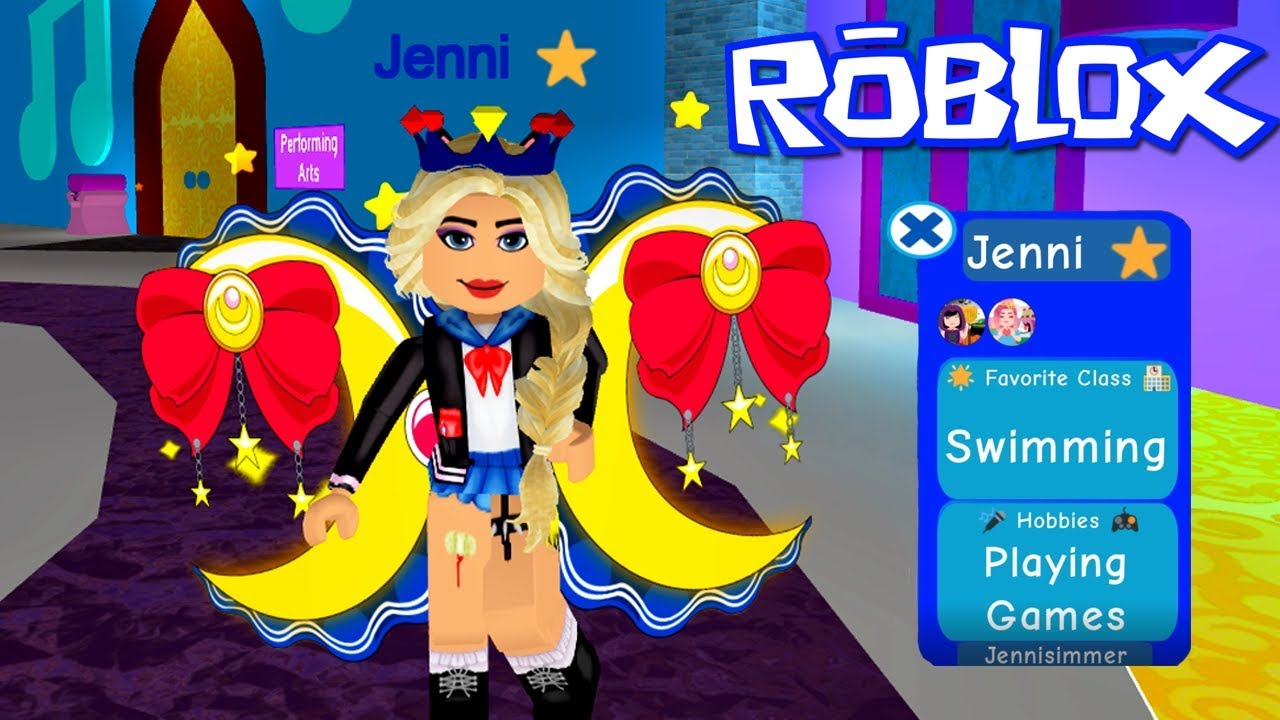 Profiles New Wings Roblox Royale High Youtube