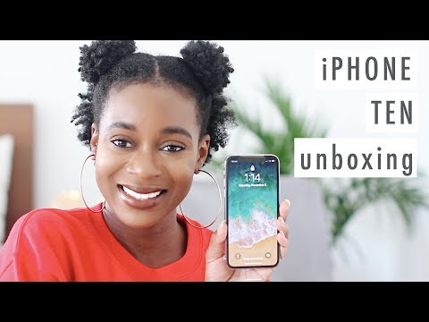 SHOULD YOU GET AN IPHONE X?! | Getting Silver iPhone X on Launch Day + Unboxing + Favorite Features
