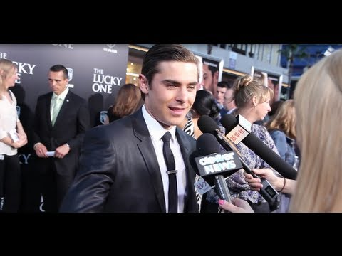 The Lucky One Premiere - Zac Efron, Taylor...