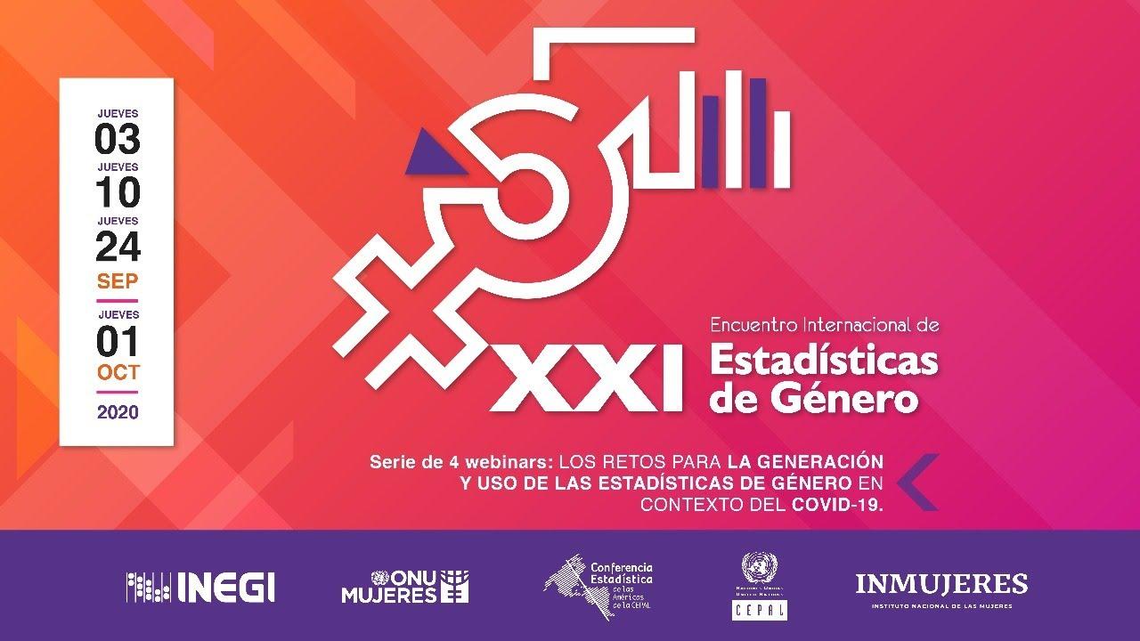 XXI Encuentro Internacional de Estadísticas de Género (EIEG)