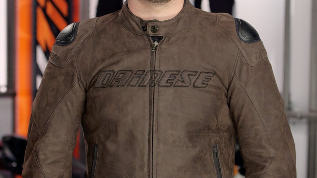 Alpinestars Jacket Leather >> Dainese Street Rider Leather Jacket Review at RevZilla.com - YouTube