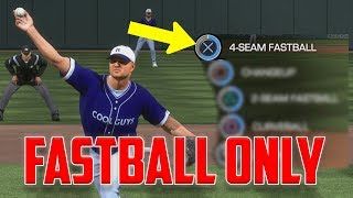 FASTBALLS ONLY CHALLENGE - MLB The Show 18