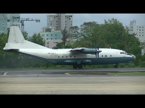 TJSJ Spotting: Before Hurricane Maria... Antonov 12 & More