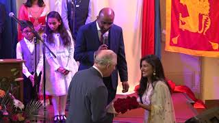 Tamil Church Honour and Respect for HRH The  Prince of Wales | Prince Charles | ECF Manorpark Church