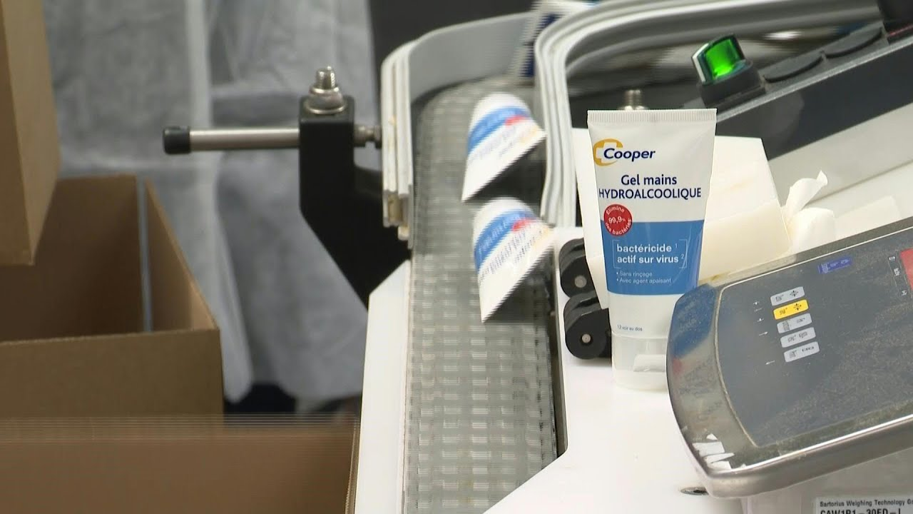 Coronavirus Les Fournisseur De Gel Hydroalcoolique Mettent Les