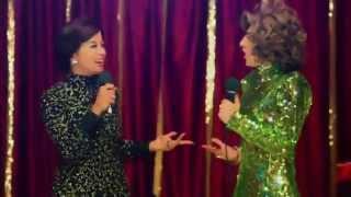La Ronca De Oro - Helenita y Nando su imitador revientan el grill cantando