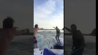 Jumping at wakeboarder - 975785 thumbnail