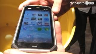 Smartphone CAT S50 en el IFA14